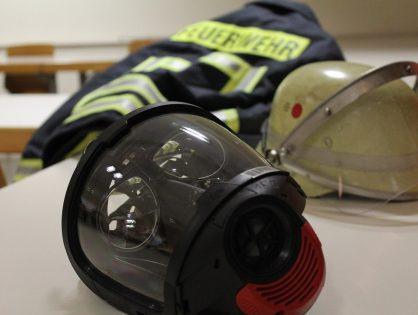 Feuerwehrangehörige bewahren den Durchblick dank Spende
