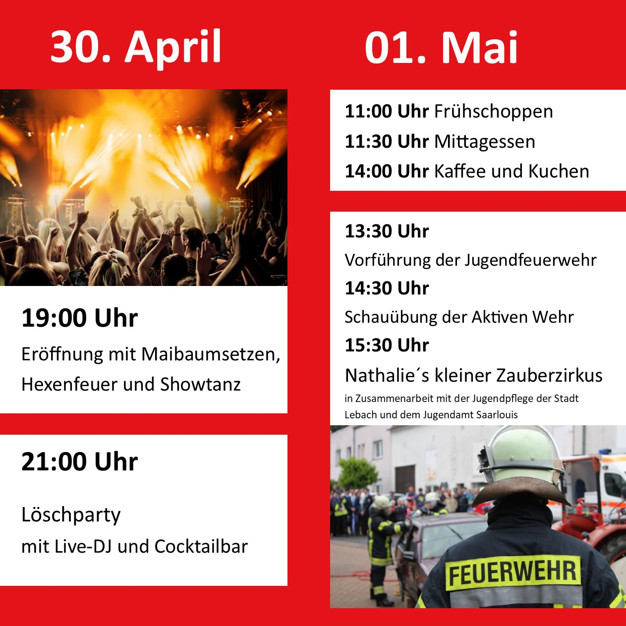 Feuerwehrfest Thalexweiler