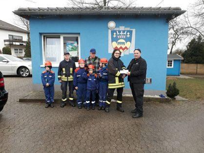 Jugendfeuerwehr Dörsdorf erhält Spende