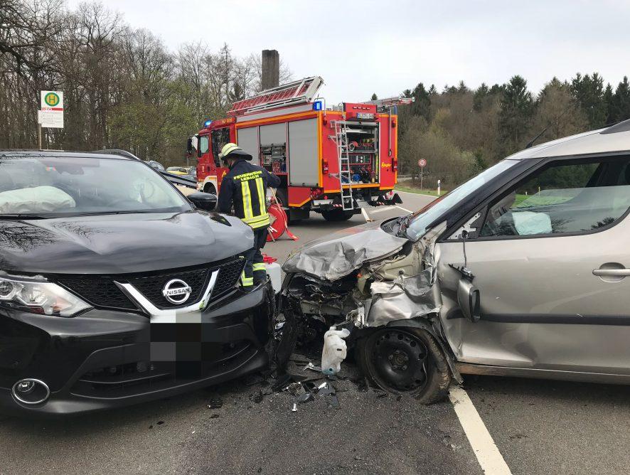 Ausl. Betriebsstoffe nach Verkehrsunfall
