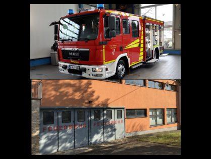 Aprilscherz: Neues Löschgruppenfahrzeug LF10 zu groß