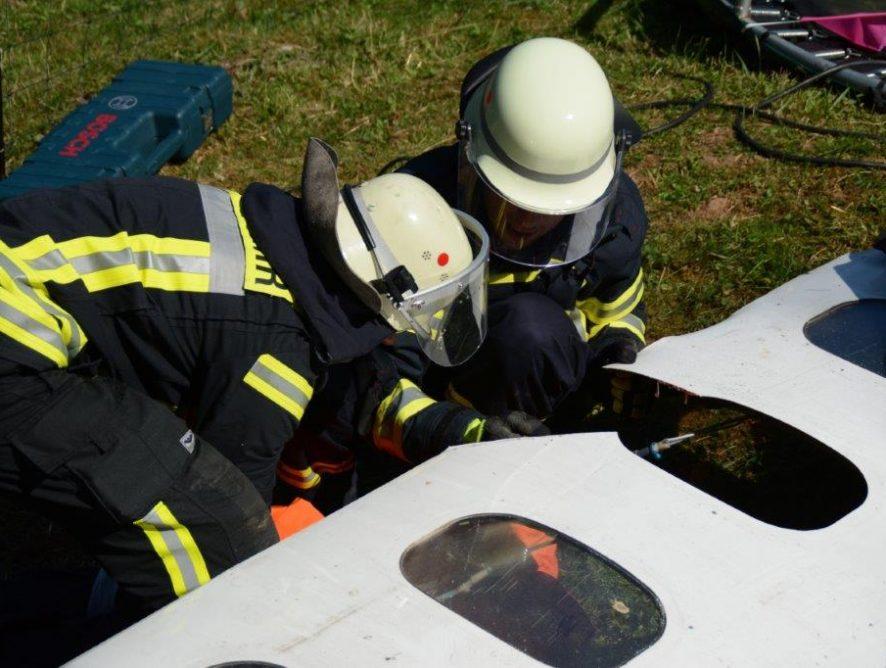 Flugzeugabsturz in Thalexweiler