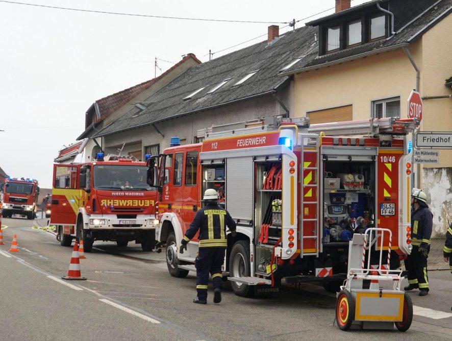 Brand 4 - Zimmerbrand mit Menschenrettung